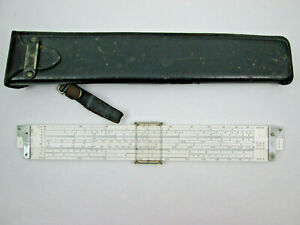 "Keuffel & Esser K&E 4181-3 Slide Rule Log Log Duplex Decitrig 10"" Plastic"