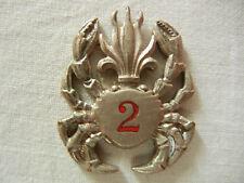 INDOCHINE    LEGION    1°REC     2°GA       Drago, carapace  argentée    (  1  )