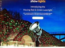 Show Lights Laser Projector Red/Green Moving 8 Designs! 859973 W10I0064 0859973