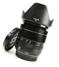 Fujifilm 18-55mm f2.8-4 R LM OIS XF Fuji Fujinon Lens + F/R Lens Caps + Hood