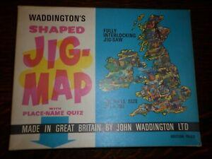 Waddington's Jig Map (1970's) - The British Isles No. 560 - no instructions/quiz