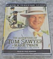 The Adventures of Tom Sawyer by Mark Twain Audiobook Cassette Tape Paul Newman