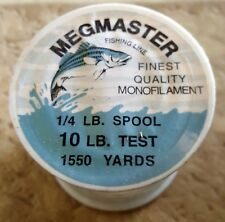 Megmaster Fishing Line  1550 Yards 10 lb. Test