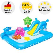Bestway Planschbecken Kinderpool Rutsche Schwimmbecken Spielpool Wasserpark Pool