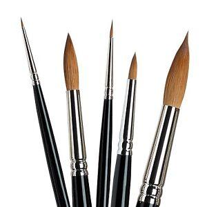 Winsor & Newton Series 7 Kolinsky Sable Artists Quality Watercolour Brushes