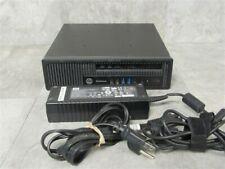 HP 800 G1 ELITEDESK USDT Desktop PC COMPUTER i5-4570s 2.90 Ghz 8GB RAM TESTED!