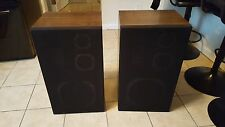 vintage magnavox fs- 1630  3way stereo speakers