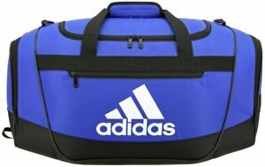 Adidas Defender III Small Duffel Bag Bo Blue/Black/White