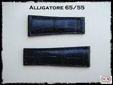 Spezzoni cinturino alligatore per Rolex Daytona oro 20mm  S 65-55 Made in Italy