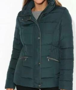 Womens Quilted Warm Winter Coat Jacket Turtlle neck NEW EUR Size 36-38-40-42-44