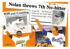 1991 Upper Deck Short Print Nolan Ryan-Rickey Henderson