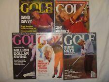 Greg Norman Golf Magazine - Lot of 5 / 1986-1994 - Australia