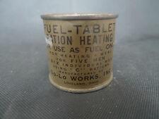 WW2 US BOITE ALCOOL FUEL TABLET HEATING RATION C RECHAUD MATERIEL ORIGINAL