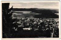 Ansichtskarte Treuchtlingen - Ortsansicht mit Kirche/Ortspanorama - schwarz/weiß