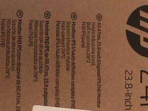 "HP 24mh 23.8"" FHD IPS LED Monitor - Jet Black"