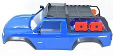 TRX-4 TRAXX - BODY Cover, BLUE (Shell Factory new Painted Traxxas 82034-4