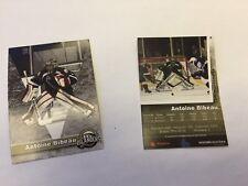 2013-14 Antoin Bibeau Charlottetown Islanders QMJHL Goalie hockey card