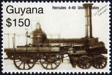 Beaver Meadow Railroad 1837 4-4-0 HERCULES Early Steam Train Locomotive Stamp