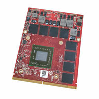 Dell Precision M6800 M6600 M6700 AMD FirePro M6100 2GB Video Card K5WCN MG0X9