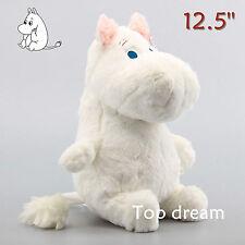 """MOOMIN Muumi Sitting Large 12.5"""" Plush Soft Toy Stuffed Cuddly Doll Teddy Gift"""