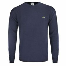 Jersey de hombre en color principal azul 100% lana