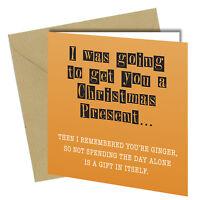 #389 CHRISTMAS CARD Rude Greeting Card funny humour joke Cheeky Love Xmas