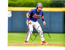 Chris Okey Reds top prospect Signed 8x10 photo Autographed Clemson