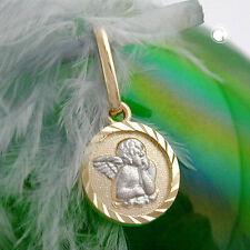 Echtem Edelmetall-Halsketten & -Anhänger ohne Steine aus Gelbgold mit Baby-Motiv