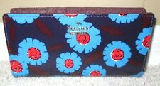 NEW Kate Spade Cameron Tangier Floral Stacy Wallet Slim Bifold NWT