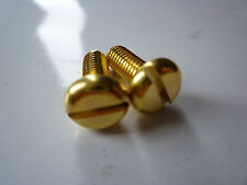 Weihrauch compatible BRASS Fore end stock screws