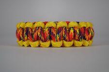 550 Paracord Survival Bracelet Cobra Yellow/Phoenix Rising Camping Tactical