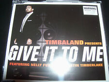 Timbaland Feat Nelly Furtado & Juston Timberlake Give It To Me Aus CD Single