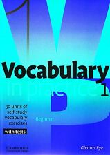 Cambridge VOCABULARY IN PRACTICE 1 BEGINNER Self-study Exercises with Tests @NEW