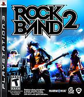 Rock Band 2 (PS3 Sony PlayStation 3, 2008)