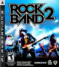 Rock Band 2 (Sony PlayStation 3, 2008) PS3