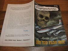 FLIEGERGESCHICHTEN  # 17 -- der TOD FLOG MIT //  Moewig 1. Auflage 1954