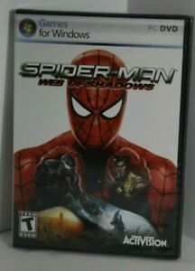 Marvel SPIDER-MAN - WEB OF SHADOWS rare PC Windows Game 2008 BRAND NEW