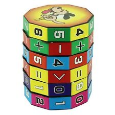 Mathematics Numbers Magic Cube Educational Toy Puzzle Game Children Kids Gift