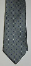 Necktie by Tommy Hilfiger Medium Gray Blue White 100% Silk See 9 Pics.