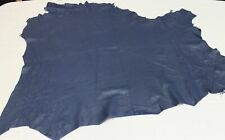 Noora soft Lambskin leather hide hides skin skins BLUE 5+sqf