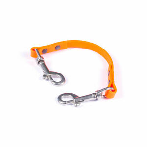 Biothane Collar to Harness Safety Link Strap  Various sizes and colours