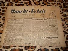 Journal MANCHE-ECLAIR, éd. du Sud de la Manche - n° 48, 30/11/1946