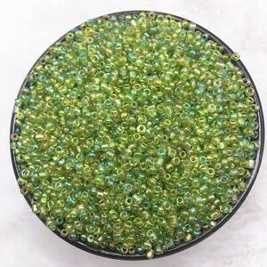 1000pcs/2/3/4mm Czech Glass Beads Seed Jewelry Spacer Loose Round Making Lot