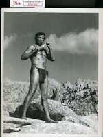 Lee Van Cleef JSA Coa Signed 8x10 Photo Autograph