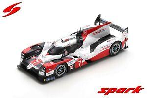 SPARK LM S7958 Toyota TS050 Hybrid Gazoo Racing #7 3rd 24h Le Mans 2020 1/43
