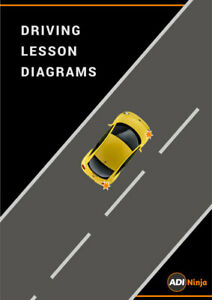 Driving lesson plan diagrams for driving instructors