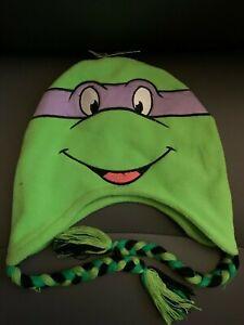 NWT Teenage Mutant Ninja Turtles Raphael Donatello Peruvian Beanie Laplander Hat