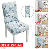 1/4/6PCS Dining Chair Seat Cover Washable Decor Dining Room Home Slipcover