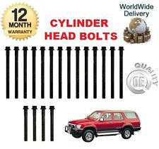 FOR TOYOTA HILUX SURF 2.4 DT 3.0 1989-2004 NEW CYLINDER HEAD BOLT SET OE QUALITY