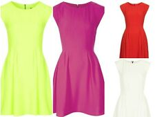 Topshop Polyester Patternless Casual Dresses for Women